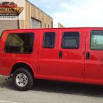 2015 Chevy Express Van Pass side windows outside